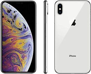 Apple iPhone XS GSM / CDMA Smartphone 64GB / Silver / Unlocked