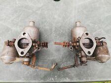 """SU H4 1.5"""" Twin Carbs Classic Mini Cooper S MGA Triumph TR2/3 etc"""