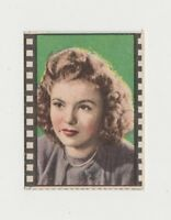Shirley Temple circa 1950 Nannina Small Trading Card - Film Frame Design E1
