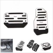 2x Nonslip Car Automatic Accelerator Clutch Brake Foot Pedal Cover Set Treadl