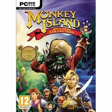 MONKEY ISLAND SPECIAL COLLECTION EDITION PC DVD NEW SEALED ENGLISH