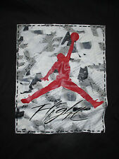 "Air Jordan MICHAEL JORDAN ""FLIGHT"" (3XL) T-Shirt RED & BLACK & WHITE ""FLIGHT"""