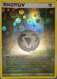 Metal Energy Reverse Holo Rare Pokemon TCG EX Emerald 88/106 LP