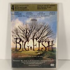 New listing Big Fish (Dvd 2003)Tim Burton - Alison Lohman - Robert Guillaume - Steve Buscemi
