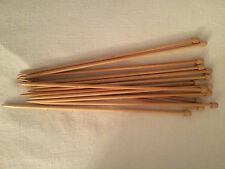 SIZE10 CLOVER BRAND BAMBOO KNITTING NEEDLES Wooden LOT OF  7 PAIRS