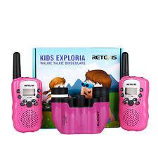 Retevis Kids 22Ch Walkie Talkie Svbony 8x21 Ultra Compact Porro Prism Binocular