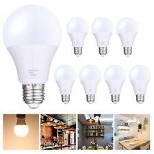 80 Watt Equivalent SlimStyle A22 E27 12W LED Light Bulb Warm White 3000K 8 Pack
