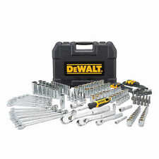 New DEWALT 173-piece Socket Polished Chrome Tool Set Metric & SAE DWMT 41019