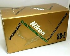 Nikon SB-E Speedlight flash for EM FE 35mm cameras - boxed - tested works good