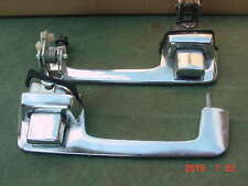 79 78 77 MoPar Dodge Truck M880 Ramcharger Lil Red Outer Door Handle PAIR Chrome