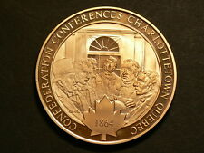 Canada, Confederation Conference Charlottetown Quebec 1864, Bronze Medal  #G4833