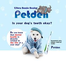 Ultrasonic Scaler Petden Pet Supplies Portable for  My dog cat dental Health