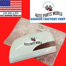 GENUINE LEXUS GX460 LX570 LEFT DRIVER WHITE OUTER MIRROR COVER 87945-60060-A0