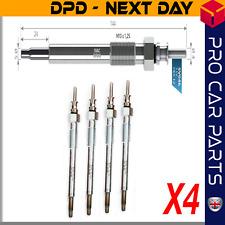 C 1.3 4X FOR OPEL CORSA MK2 DIESEL HEATER GLOW PLUGS FULL SET 2003-2007