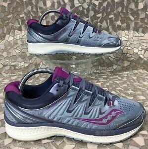 SAUCONY TRIUMPH ISO 4 Fog Purple Running Walking shoe S10413 39 women's 8