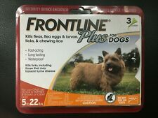 Frontline Plus Orange for Small Dogs 5 to 22 lbs, 3 Month Supply, #7001