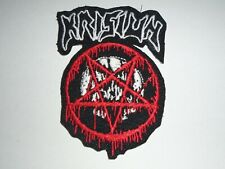 KRISIUN DEATH METAL IRON ON EMBROIDERED PATCH