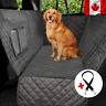 New Waterproof Pet Cat Dog Back Car Seat Cover Hammock Nonslip Mat With Belt CA