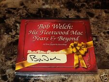 Bob Welch Rare Authentic Signed Limited Edition CD Fleetwood Mac Years & Beyond
