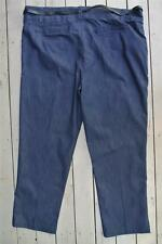 Target MODA Indigo Blue Denim Pants Size 20. NEW RRP$49. Straight Leg. With Belt