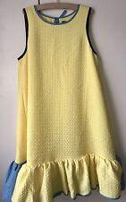 Victoria Beckham Target Girls Yellow Bubble Puff Ball Dress BNWT XL