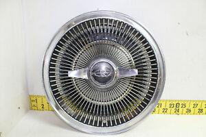 "USED OEM 15"" Spinner Finned Turbine Hubcap 1964-1967 Buick Riviera Super  (W273)"
