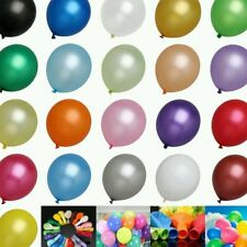"25x9"" Plain Colour Balloon Birthday/Party/Wedding Decorating Latex Value Pack"