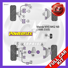 Mazda MX-5 Mk2 NB (1998-2005) Rear Diff Mount Inserts Powerflex Full Bush Kit