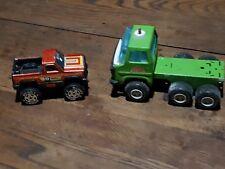 Jouet en métal lot Ancien Camion  Sanson Bravo Rico &  voiture Buddy L