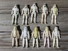 1977 & 1980 Vintage Star Wars Stormtrooper Hoth Snowtrooper Action Figures Lot