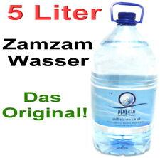 5 Liter Zamzam Wasser aus Mekka Brunnen Kaaba 100% Original *Allah Muslim Islam