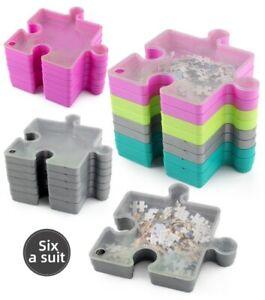New Puzzle Jigsaw Storage Store Piece 1000 6 layers Box Portable Tray Box