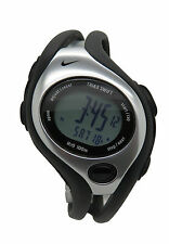 New Nike Triax Swift Digital LX WR0090 001 Black Sterling Sports Runners Watch