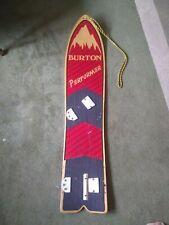 1980s Burton Performer Snowboard
