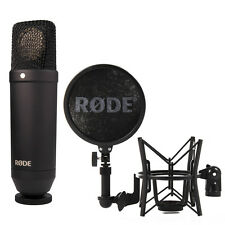 Rode NT1 Cardioid Condenser Microphone with FREE Rode SM6 Shockmount!
