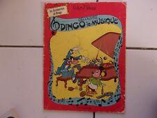 bd Walt Disney DINGO DECOUVRE LA MUSIQUE dl 1 er trimestre 1979