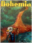 """11x14""""Poster on CANVAS Poster.Room art.Bohemia cover.Countryside scene.6870"""