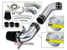 BLACK COLD AIR INTAKE KIT+ DRY FILTER FOR FORD 89-93 Mustang 5.0L V8 GT LX
