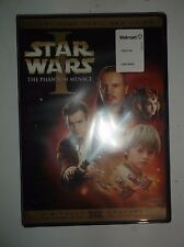 Star Wars Episode I: The Phantom Menace (DVD, 2005, 2-Disc Set) BRAND NEW, Padme