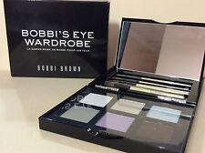 Bobbi Brown Bobbi's Eye Wardrobe Eyeshadow 6 Shades 4 Brush Set New In Box