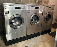 Maytag Front Load Washer 25LB Coin Op Stainless Steel USED