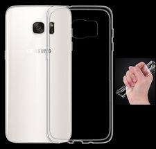 Samsung Galaxy S7 Edge TPU Silikon Case Ultra dünn Schutz Hülle Cover Bumper