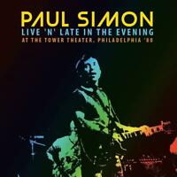 PAUL SIMON – LIVE 'N' LATE IN THE EVENING,  PHILADELPHA '80 (NEW/SEALED) CD