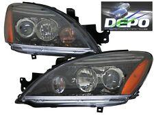2004-2007 Mitsubishi Lancer ES OZ Rally Black Projector Head Lights DEPO