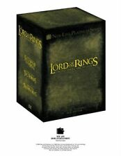 THE LORD OF THE RINGS TRILOGY COMPLETE EXTENDED EDITION DVD UK Movie Film New R2