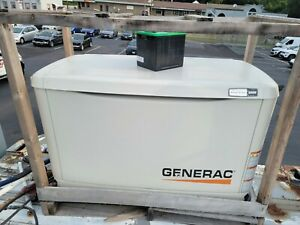Generator and transfer switch Generac 20KW 3 phase
