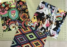 Alexander Henry Retro Fabric Patchwork or Making Face Mask 3x40cm squares