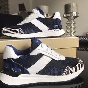 Michael Kors Monroe  designer trainers Sneakers UK4 BNIB