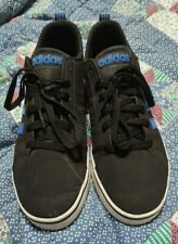 Men's Adidas VS Pace Trainers, Size UK10 BLACK AND BLUE