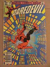 Daredevil #186 Marvel Comics NETFLIX Frank Miller Newsstand Edition